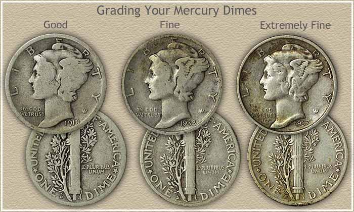 Mercury Dime Grading