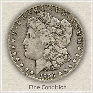 Morgan Silver Dollar Fine Condition