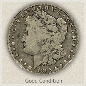 Morgan Silver Dollar Good Condition