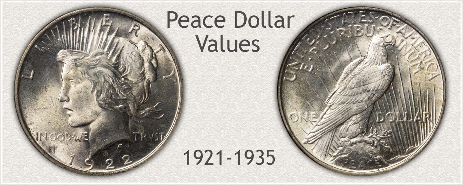Uncirculated Peace Dollar Values