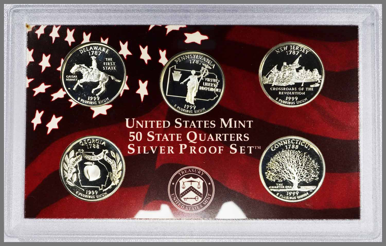 1999 Proof State Quarters