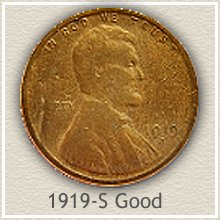 Lincoln Penny Good Condition