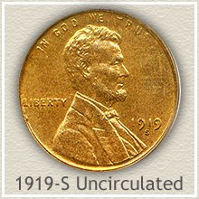 Lincoln Penny Uncirculated Condition