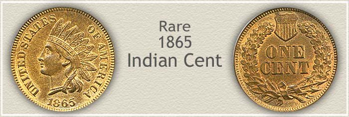 Glowing Luster and Rare 1865 Indian Penny