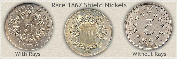 Auction Value of Rare 1866 Nickels