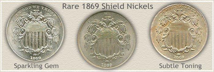 Rare 1869 Nickel Value