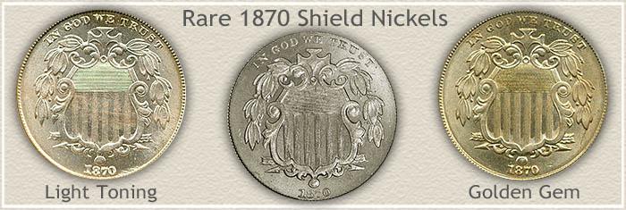 Rare 1870 Nickel Value