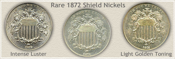 Rare 1872 Nickel Value