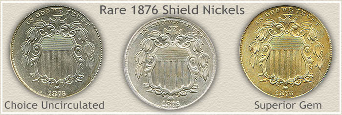 Rare 1876 Nickel Value