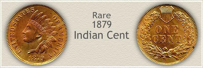 Rare 1879 Indian Penny