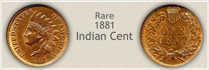 Rare 1881 Indian Penny