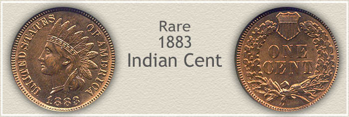Rare 1883 Indian Penny