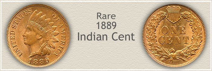 Rare 1889 Indian Penny