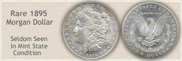 Rare 1895-O Morgan Silver Dollar