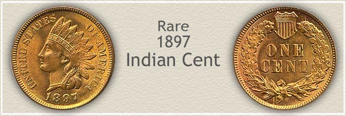 Rare 1897 Indian Penny