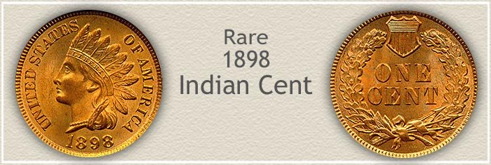 Rare 1898 Indian Penny