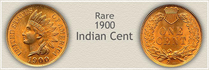 Rare 1900 Indian Penny