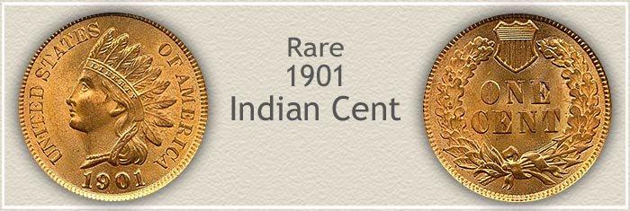 1901 indian head penny values