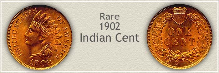 Rare 1902 Indian Penny