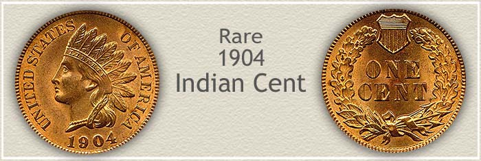 Rare 1904 Indian Penny