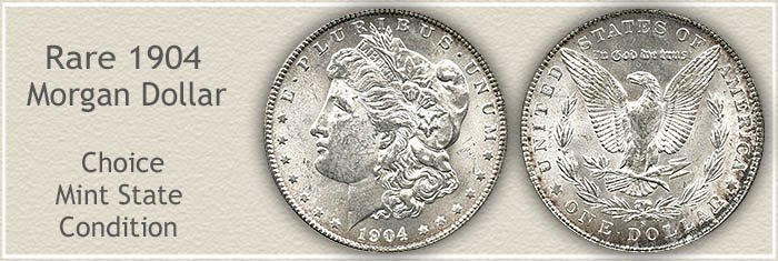 Rare 1904-S Morgan Silver Dollar