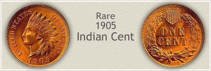 Rare 1905 Indian Penny