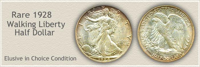 Rare 1928 Half Dollar