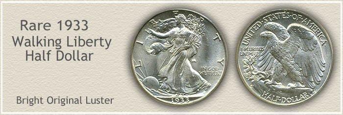 Rare 1933 Half Dollar