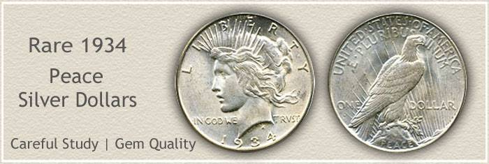 1934 Peace Silver Dollar Value | Discover Their Worth