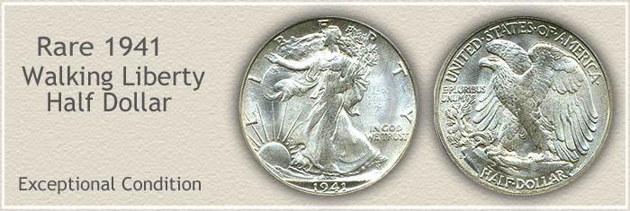 Rare 1941 Half Dollar