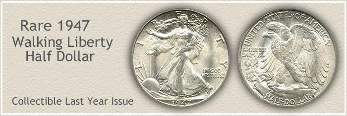 Rare 1947 Half Dollar