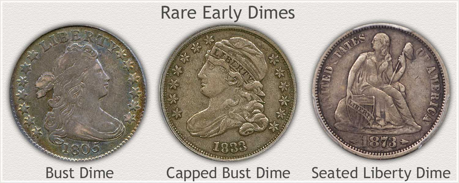 Rare Early Dimes