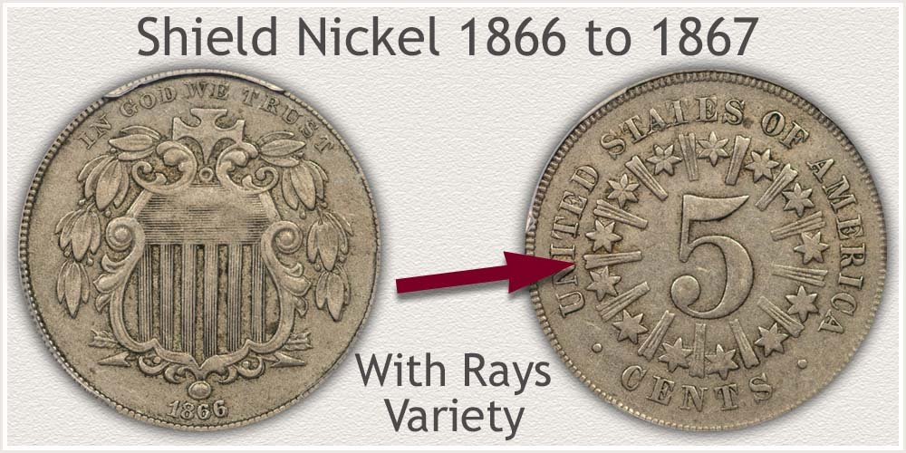Variety I: Rays on Reverse Shield Nickel