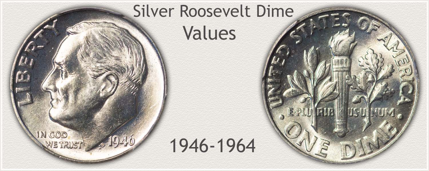 Silver Roosevelt Dime Values