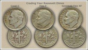 Visit...  Video   Grading Roosevelt Dimes