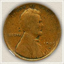 Rare 1909-S VDB Lincoln Penny