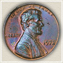 Rare 1972 Double Die Lincoln Cent