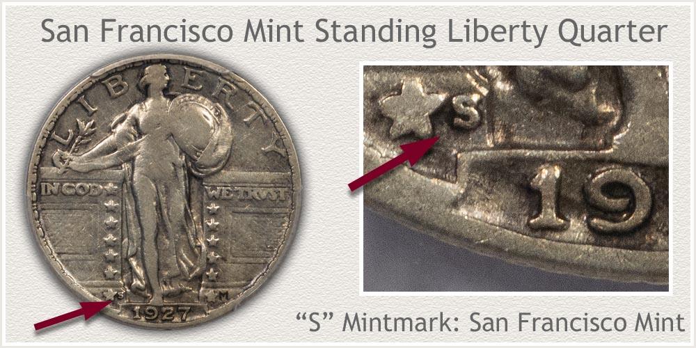 1928-S Standing Liberty Quarter