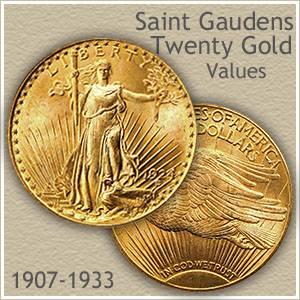 Saint Gaudens Gold Coin Values