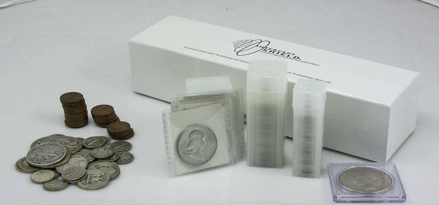 A Collection of Recommended Coin Storage Supplies