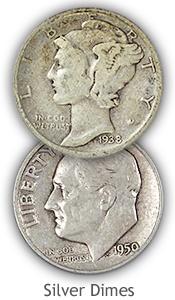 Silver Dime Values
