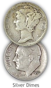 Silver Dime Values