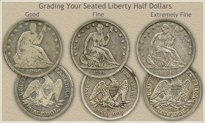 Seated Liberty Half Dollar Value Very Solid