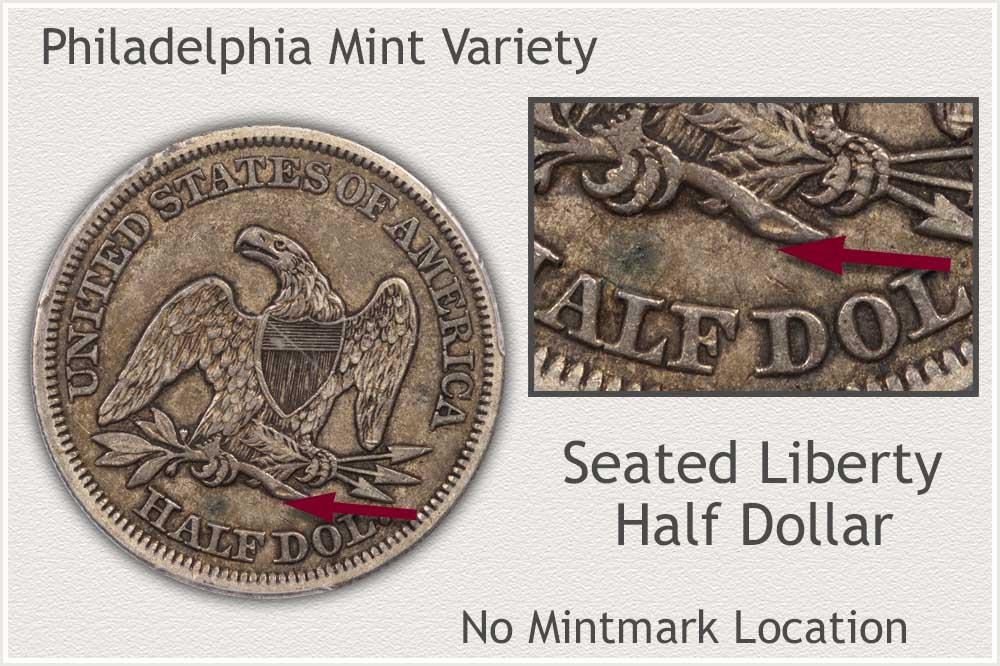 Philadelphia Seated Liberty Half Dollar