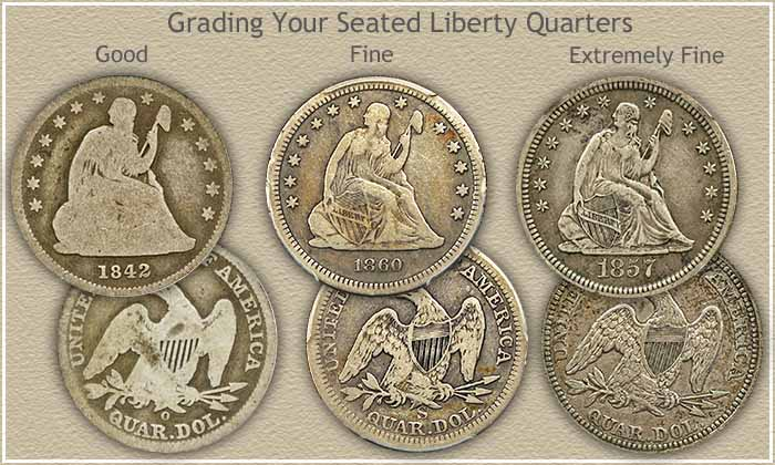 Seated Liberty Quarter Grading