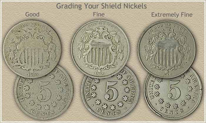 Grading Shield Nickels