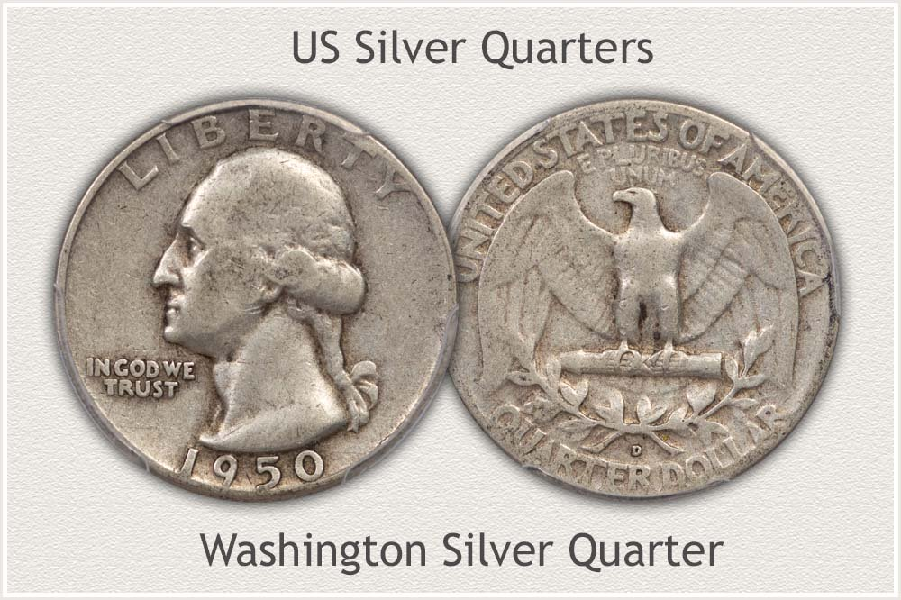 Washington Quarter Bullion Silver Examples