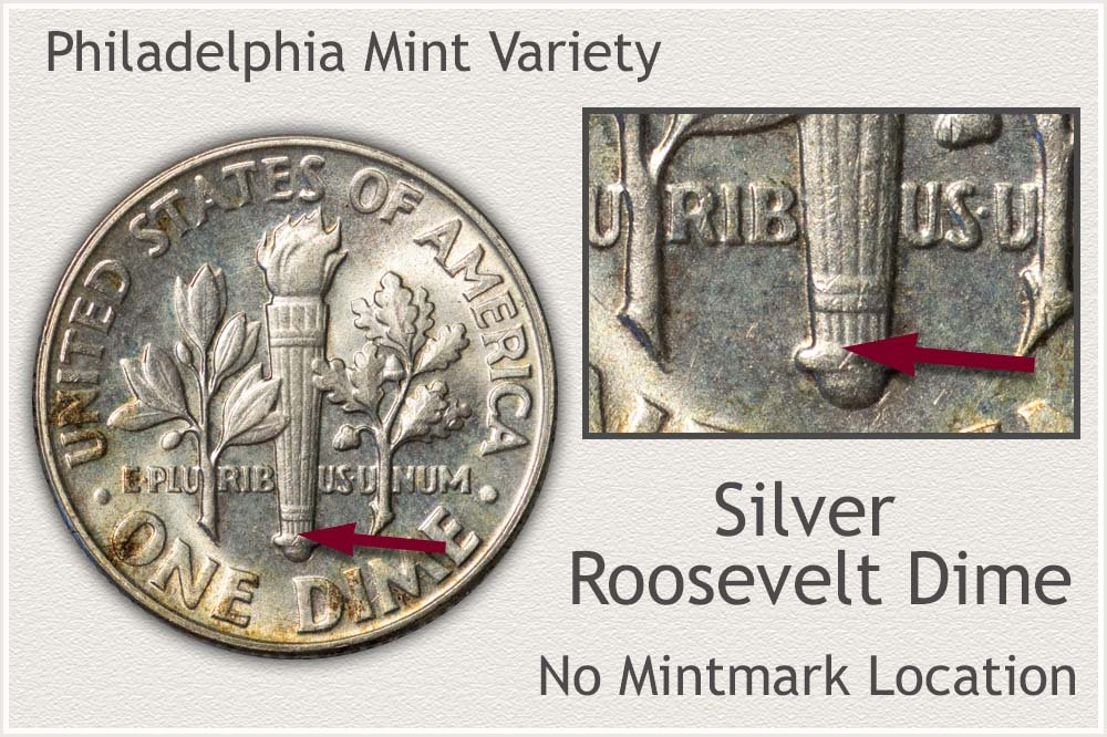 Philadelphia Silver Roosevelt Dime