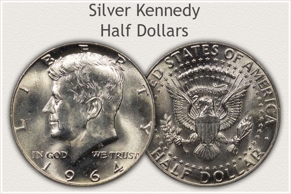 Mint State 1964 Silver Kennedy Half Dollar