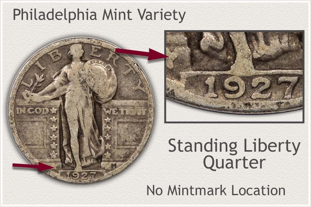 Philadelphia Mint Standing Liberty Quarter